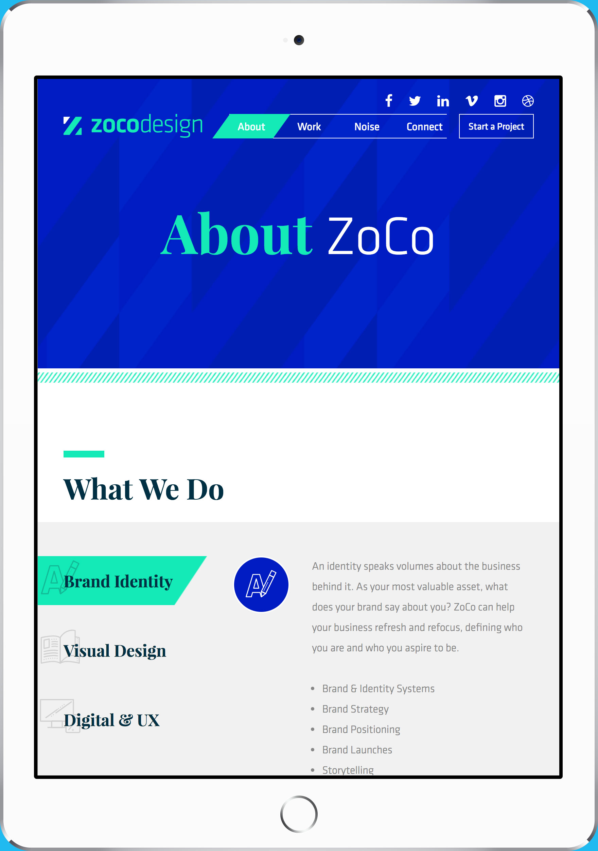ZoCo Design Custom WordPress Theme
